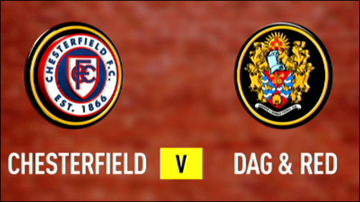 Chesterfield 2-2 Dag & Red