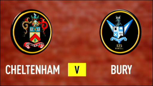 Cheltenham 5-2 Bury