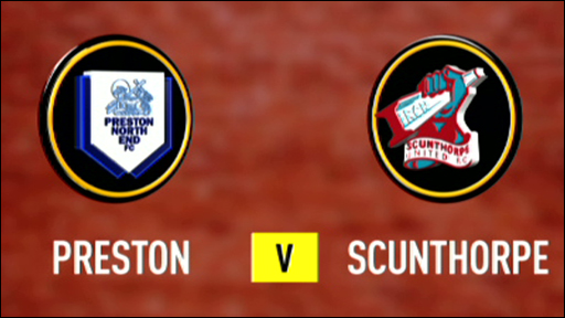 Preston v Scunthorpe