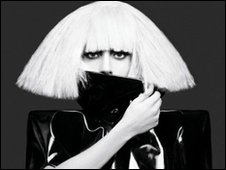 Lady Gaga's Fame Monster album cover