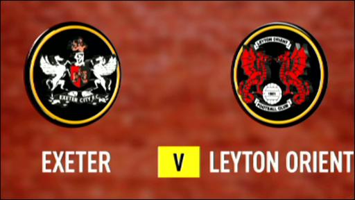 Exeter 0-0 Leyton Orient