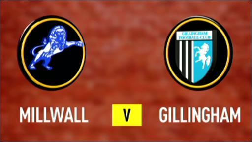 Millwall 4-0 Gillingham
