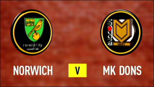 Norwich 1-1 MK Dons