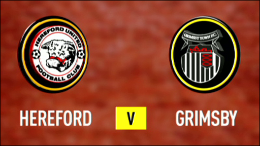 Hereford 0-1 Grimsby