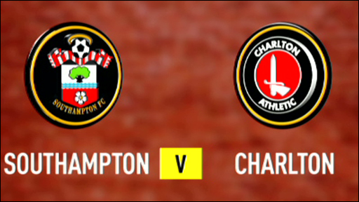 Southampton 1-0 Charlton (UK users only)
