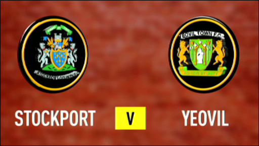 Stockport 1-3 Yeovil