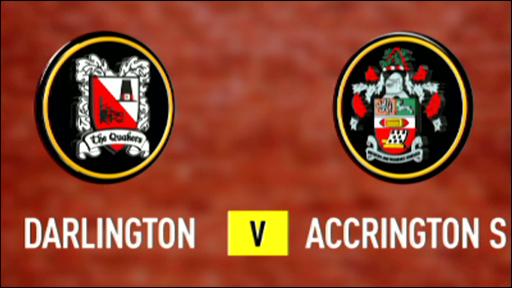 Darlington 0-0 Accrington Stanley