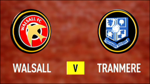 Walsall 2-1 Tranmere