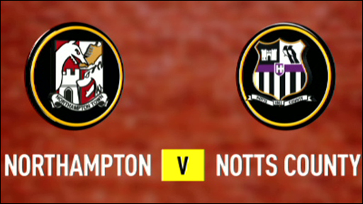 Northampton 0-1 Notts County