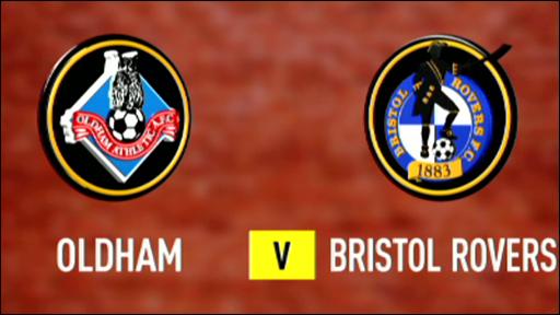 Oldham v Bristol Rovers