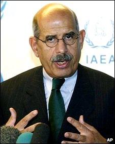 Egyptian opposition figure Mohamed El-Baradei