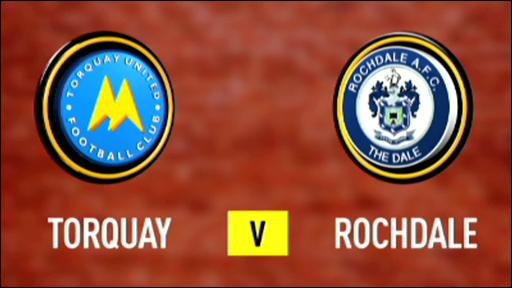 Torquay 5-0 Rochdale