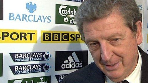 Fulham boss Roy Hodgso