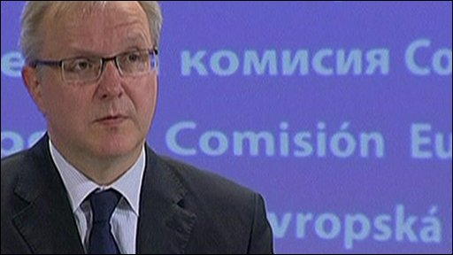 European Commissioner for Economic and Monetary Affairs Olli Rehn