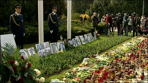 Poland mourning