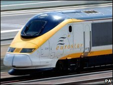 Eurostar train