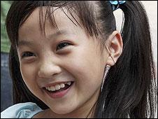 Lin Miaoke, who mimed at the Olympics