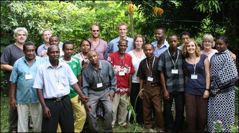 Bristol Conservation and Science Foundation staff and supporters in the Comoros