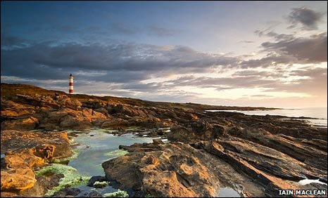 Lighthouse at Tarbat Ness. Copyright: Iain Maclean