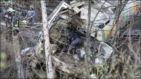 Train crash near the northern Italian cities of Merano and Bolzano