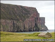 Cliffs at Rackwick [Pic: Undiscovered Scotland]