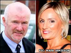 Colin Howell and Hazel Stewart appeared in court at Coleraine