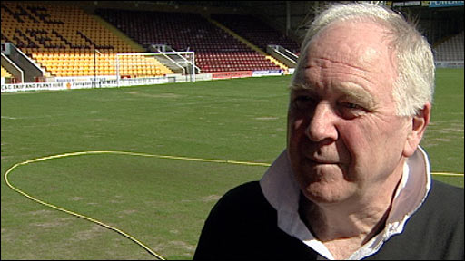 Motherwell manager Craig Brown
