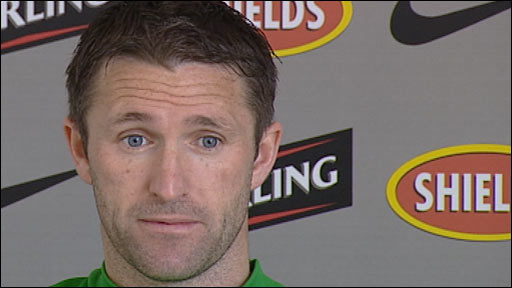Celtic striker Robbie Keane