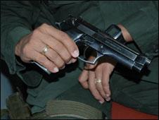 Sgt Nino's pistol