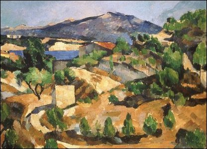 Paul Cézanne, The François Zola Dam, ca 1877-78