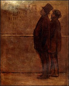 Honoré Daumier, The Night Walkers, 1842–47