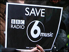 6 Music protest placard