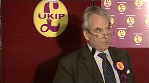 UKIP leader Lord Pearson