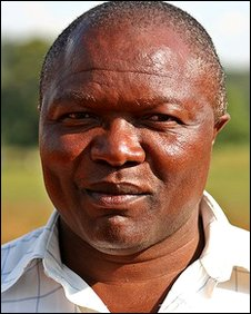Endy Mhlanga, supporter of Zimbabwe's liberation war
