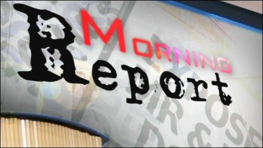 Morning Report graphic