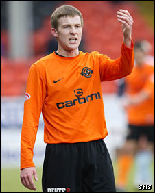 Dundee United defender Paul Dixon