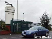 Jaguar in Coventry