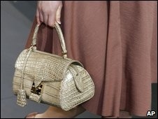 A creation by US fashion designer Marc Jacobs for Louis Vuitton
