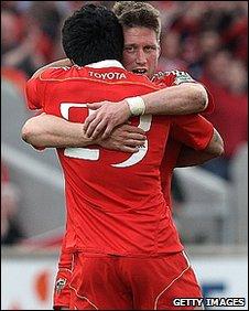 Munster celebrate
