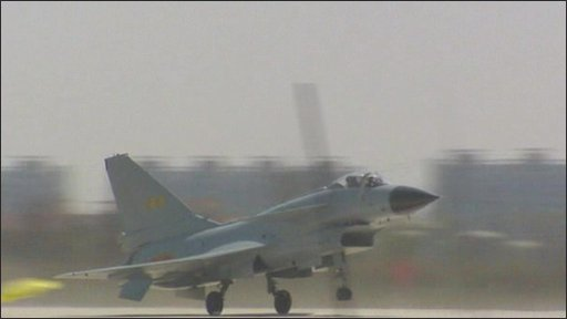 China's J-10 fighter jet