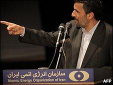 Iran's President Mahmoud Ahmadinejad 09.04.10