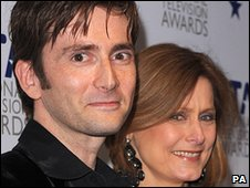 David Tennant and Sarah Brown