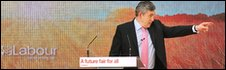 Gordon Brown delivers Labour manifesto