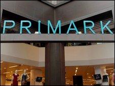 A Primark shop