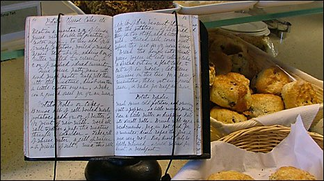The cook's notebook