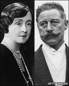 "Sir Cosmo Duff Gordon and his famous fashion designer wife ""Lucile"""