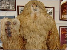 """Yeti"" sold in the auction"