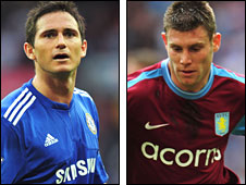 Frank Lampard and James Milner