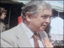 Tom Ellis in campaigning mode