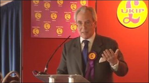 Lord Pearson at UKIP's Welsh campaign launch